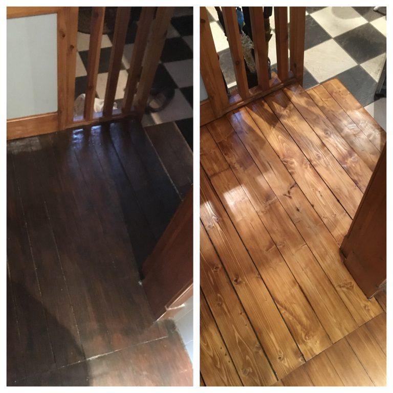 wood floor sanding Glasgow