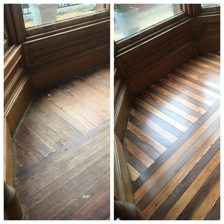 wood floor sanding falkirk