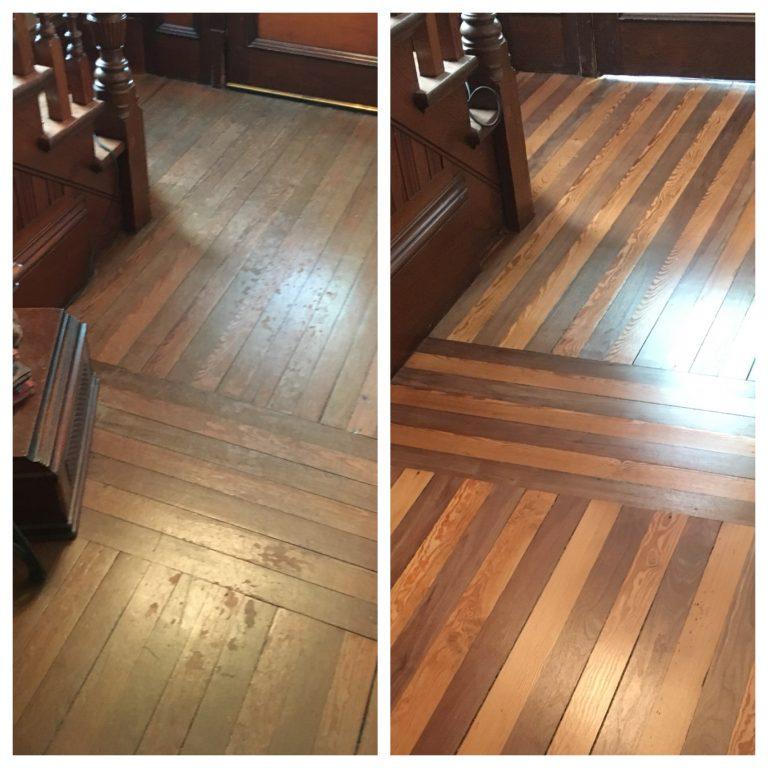 wood floor sanding Glasgow Southside