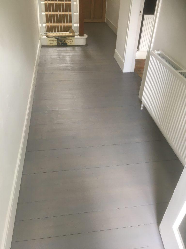 wood sanding grey Glasgow